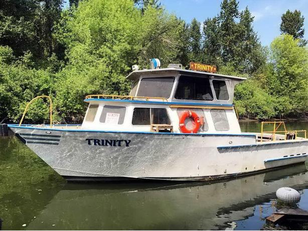 1994 Commercial Crew Boat for Sale 37' - Trinity
