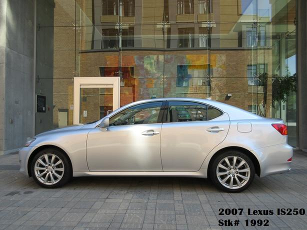 2007 Lexus IS 250 AWD – ON SALE! - FULLY LOADED!