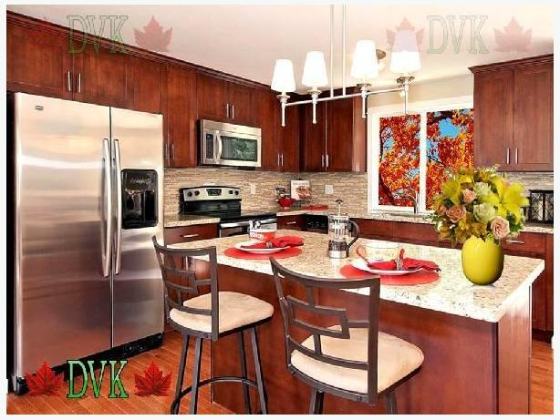 Kitchen Cabinets on sale - Red Shaker Parawood