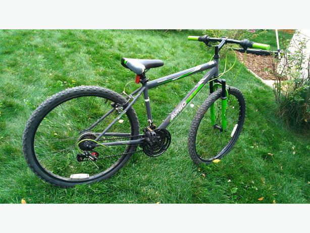 "Avigo - 26"" Descent Bike - Green"