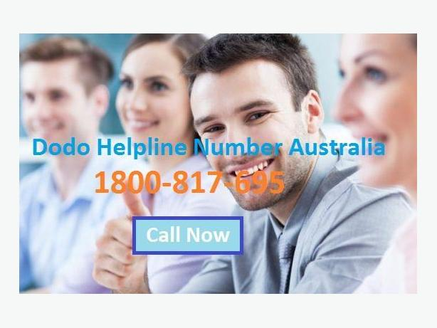 Dodo Support Australia Helpline and Services 1800-817-695