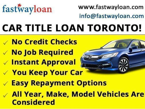 Borrow up to $9500 TODAY On Your Vehicle & Keep Driving It