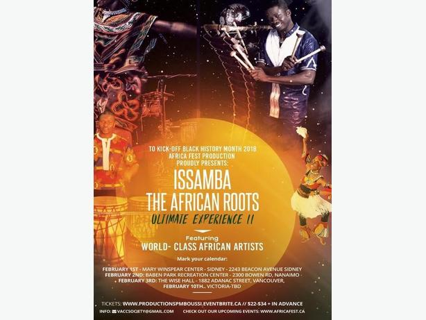 Issamba: African Spirit Night - The African ROOTS Ultimate Experience