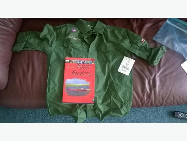 scouts top and handbook