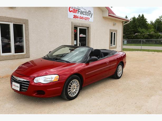 2005 Chrysler Sebring Convertible LOW KM!