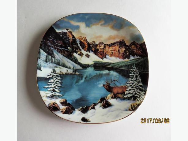 Canada's Natural Treasures Plates