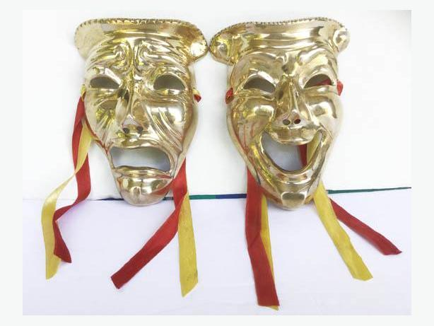 Lovely Brass Comedy and Tragedy MASKS