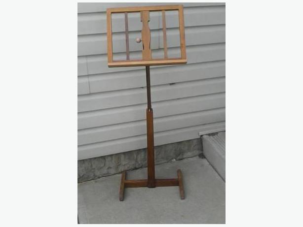 Handmade Wooden Music Stand