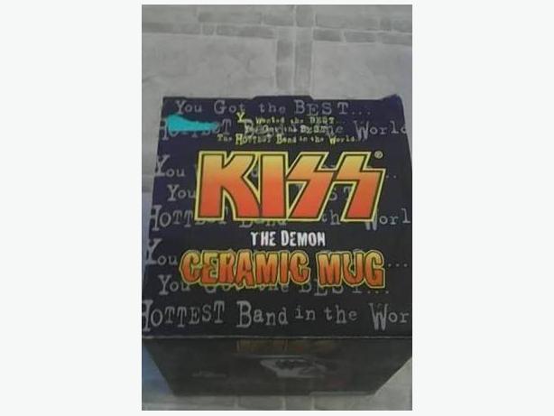 KISS The Demon Ceramic Mug
