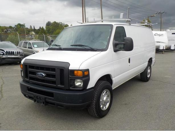 2010 Ford Econoline E-250 Cargo Van W/ Rear Shelving & Bulkhead