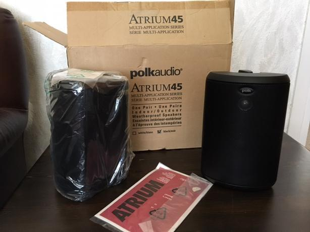Polkaudio speakers