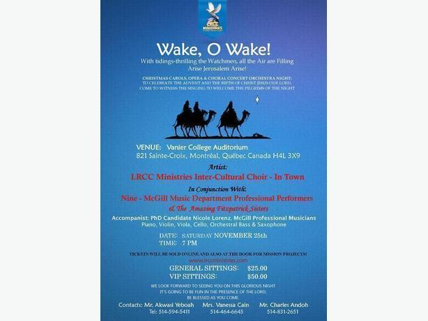 Christmas Carols, Opera / Choral & Orchestra Concert Night