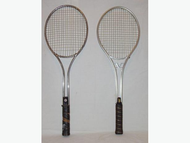 2- Slazenger Aluiminum Tennis Rackets