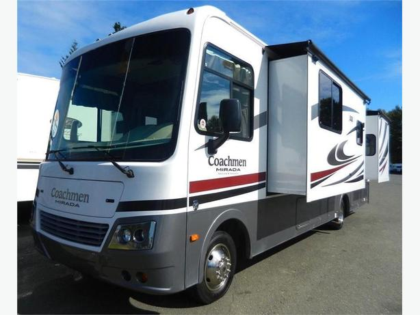 2012 Coachmen Mirada 29DS - WOW! Dual Slides & Front Pull Down Bunk!