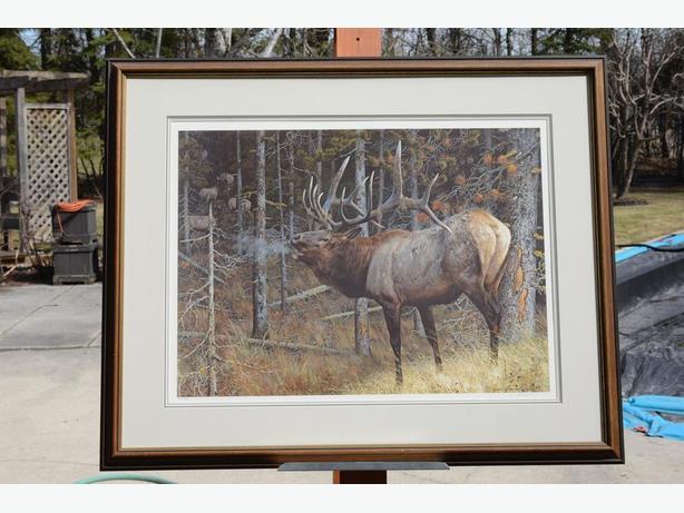 HUNTERS DREAM by Carl Brenders [Bull Elk]