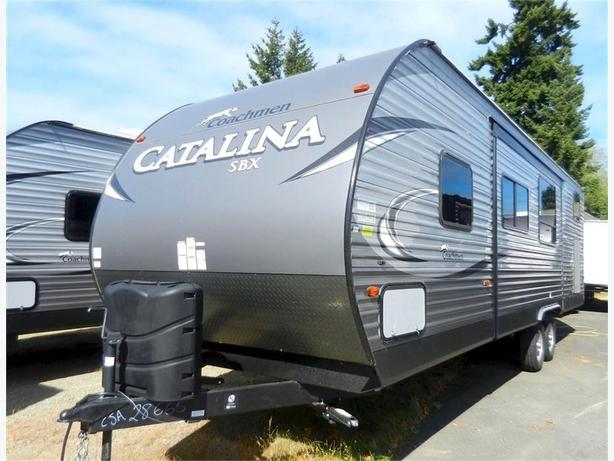 2018 Catalina 291QBS - Super Bunk Model for Big Families! Sleeps 11!