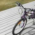 Purple Mountain Bike for Children, Kids.