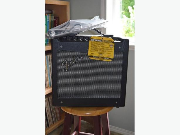 Fender Mustang 1 guitar amplifier