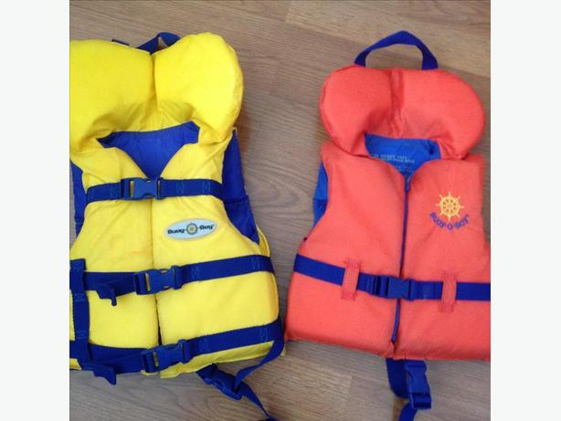 BUOY-O-BOY LIFE JACKETS