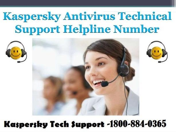 Dial Kaspersky Tech Support Number – 1800-884-0365