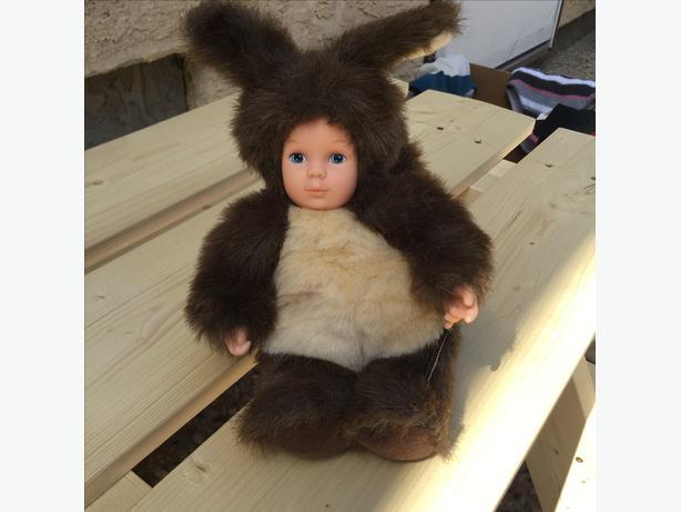 Anne Geddes Squirrel Beannie Baby