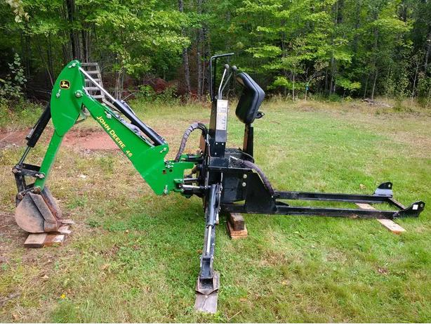 John Deere Backhoe Attachment >> John Deere 46 Backhoe Attachment Montague Pei Mobile