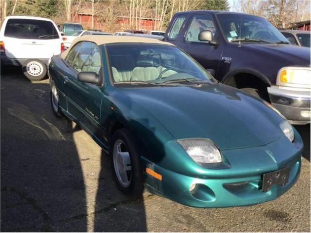 1999 Pontiac Sunfire GT convertible