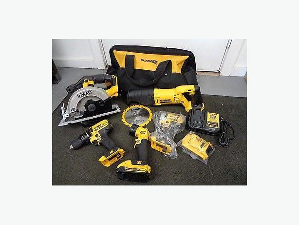Dewalt 20v Max 5 Pieces Combo