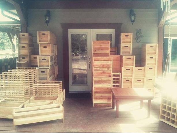 Crates, Crates and more Crates!!