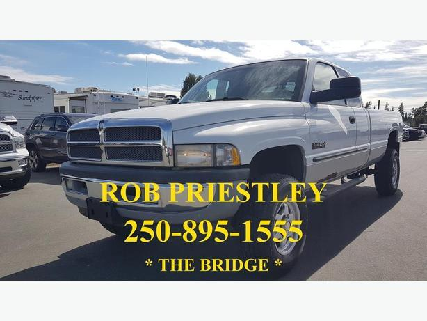 2001 DODGE RAM 2500 QUAD CAB 4X4 LONG BOX * DIESEL 5.9L CUMMINS* THE BRIDGE *