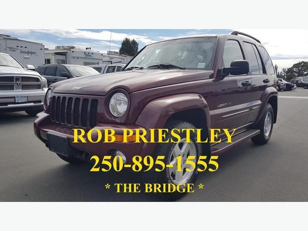 2002 JEEP LIBERTY LIMITED EDITION 4X4 * ROB PRIESTLEY THE BRIDGE *
