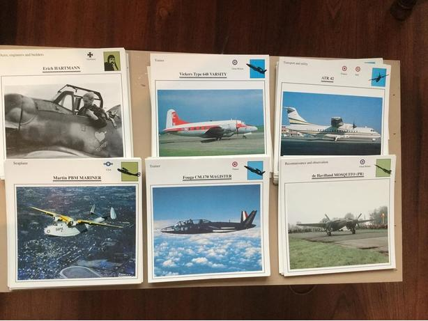 "SQUADRON AIR FORCE 6""x6"" Cards plus Posters Excellent Condition          ."