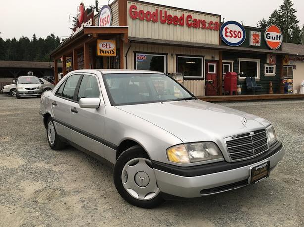 1994 Mercedes-Benz C220 - Classic European Style
