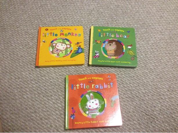 3 Touch & Explore board books