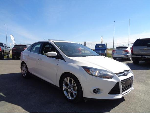 2013 Ford Focus Titanium #I5803A CREDIT GUYS AUTO SALES WINNIPEG