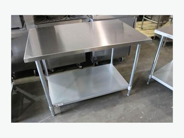 Restaurant Equip Auction Sat 16th-Stainless Tables