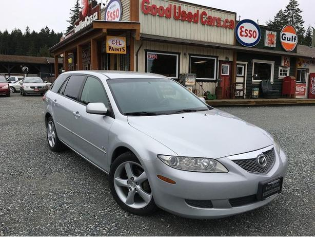 2005 Mazda 6 Wagon - Only 166,000 KM! Manual 5 speed
