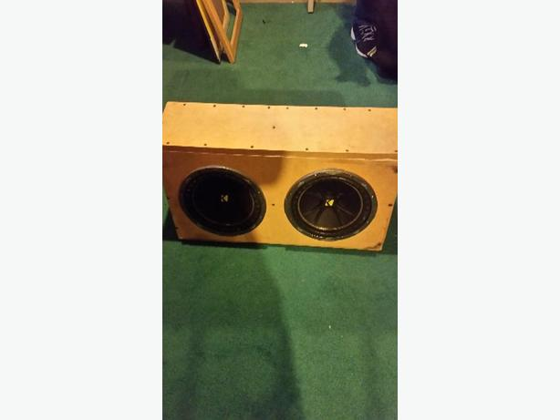 10 inch kicker subs