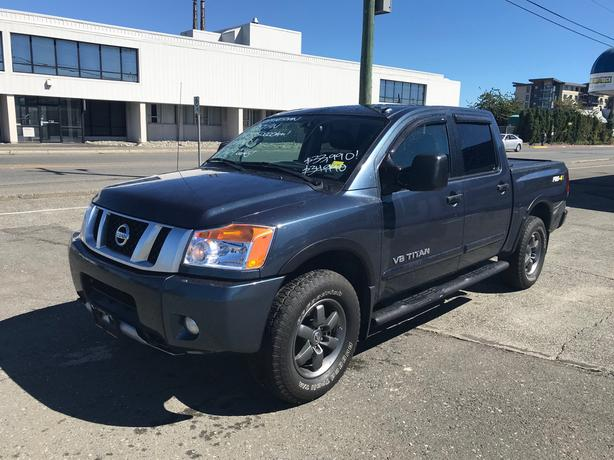 2014 Nissan Titan PRO-4X Crew Cab Fully Loaded *$249 Bi-weekly!*