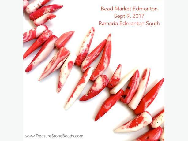 Gemstone Beads @ Bead Sale Edmonton. Sept 9, 2017