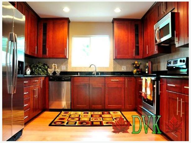 Kitchen Cabinets on sale -Shaker Cherry Oak