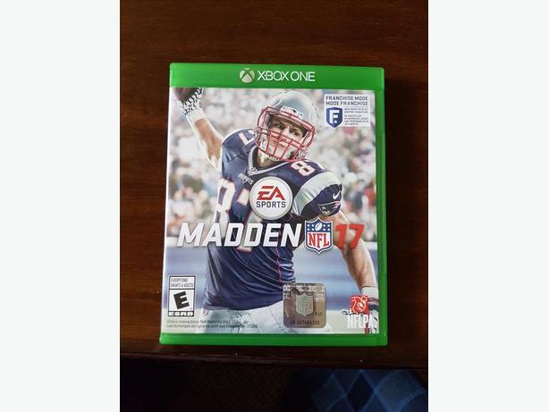 MADDEN 17 XBOX ONE