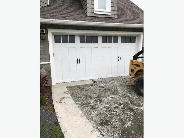 16 x 8 garage door west shore langford colwood metchosin for 16 x 8 garage door