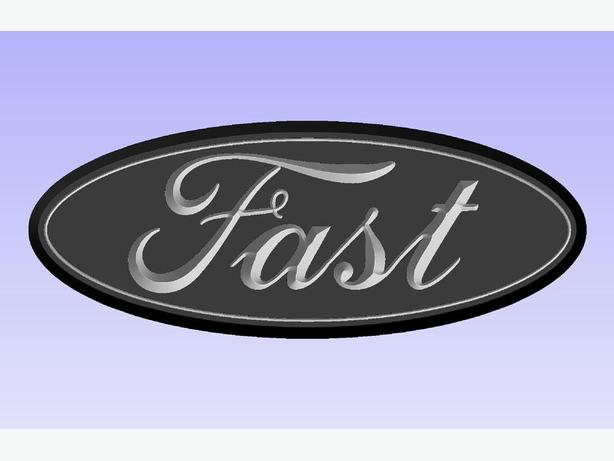"Ford Truck Badges ""Free Shipping"""