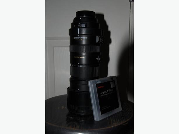 Sigma 50-500mm f/4-6.3 DG APO HSM Nikon mount