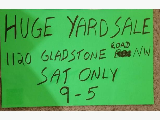 HUGE Front Yard /Garage Sale