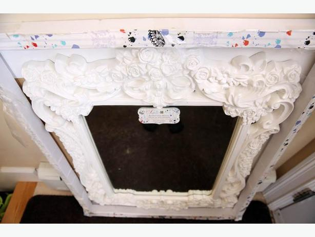 PRICE DROP! Beautiful and Pristine Vintage Inspired Mirror