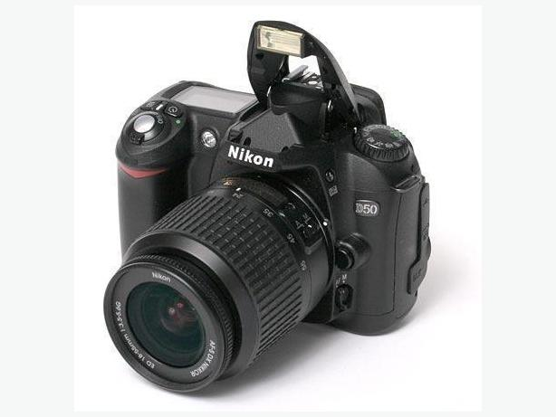 D50 camera for sale!