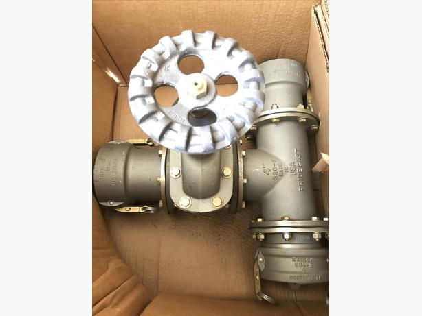 Hose Line Manifold Assembly, 4in Quick Coupler Type for Hose