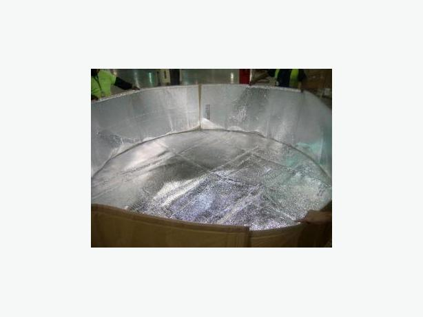 Insulated Tank Cover Assembly